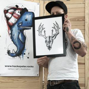 hackepeter portrait